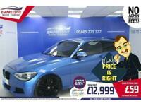 2014 64 BMW 1 SERIES 2.0 120D M SPORT 3D 181 BHP DIESEL