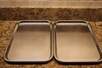 2 plateaux stainless steel