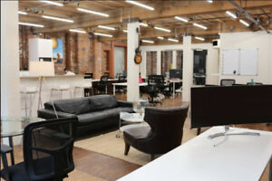 ** GASTOWN CO-WORKING/OFFICE SPACE ***