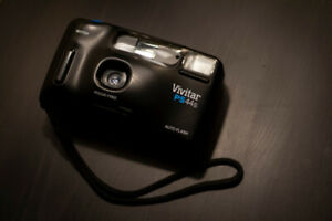 Vivitar PS 44S 35mm Point and Shoot Camera