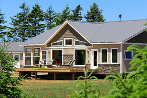 EXECUTIVE WATERVIEW BUNGALOW VACATION HOME FOR SALE RUSTICO PEI