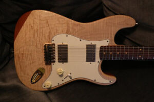 Partscaster - Fender Strat Loaded with humbuckers