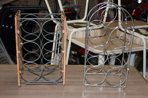Two wine racks