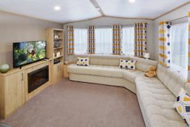 Brand New Static Caravan For Sale At Crosbie Towers Ayrshire Scotland