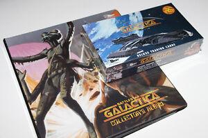 BATTLESTAR GALACTICA-COLLECTION-CARTES/CARDS-ALBUM+DISPLAY BOX