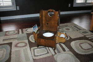 Homemade Wooden Potty Chair
