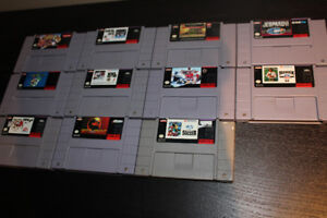 Assorted SNES Games