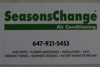 Air Conditioning & Heating in Oakville, Burlington, Hamilton
