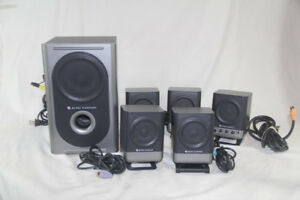 Altec Lansing High End Surround Sound System for PC or other!