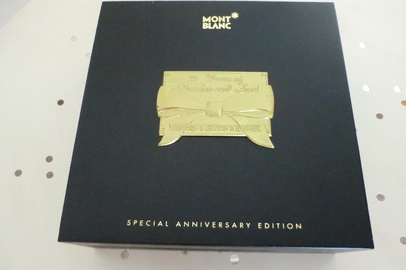 Mont Blanc 75years Special Edition Watch Box