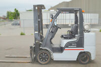 FORKLIFTS Hyster Nissan Toyota COMPANY CLOSING On-Line AUCTION