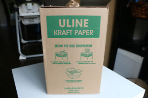 Uline Kraft Paper Dispenser Box - For packing empty space in box