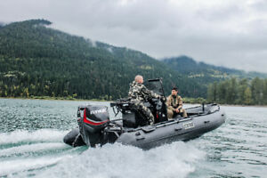 NEW* 2018 Stryker Boats --Canada's Toughest Inflatable Boat