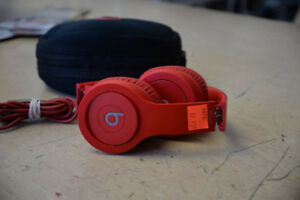 Dre Beats Solo HD Headphones - Red