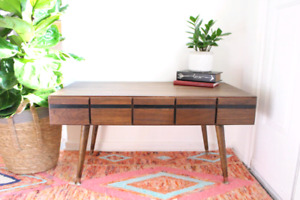 Beautiful vintage library index card catalogue coffee table