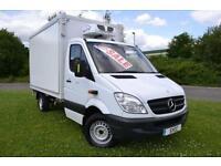 2011 Mercedes benz Sprinter 3.5t Chassis Cab Hubbard Fridge Van 4 door Refrid...