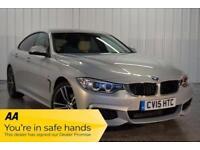 2015 15 BMW 4 SERIES 2.0 428I M SPORT GRAN COUPE 4D AUTO 242 BHP