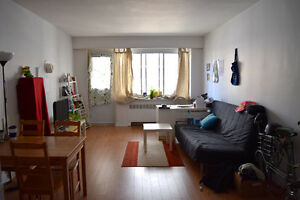 Bright and spacious 3.5 with balcony near McGill (July 1st)