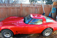 Beautiful Red 1978 Chevrolet Corvette Coupe