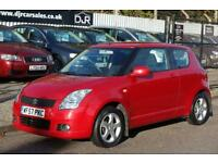 2007 57 SUZUKI SWIFT 1.5 GLX VVTS 3D 101 BHP