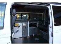 2020 Volkswagen Transporter Rock and roll bed conversion 4 berth pop top conv...