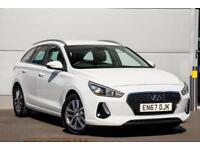 2018 Hyundai i30 1.4 T-GDi (140ps) SE Nav Petrol white Manual