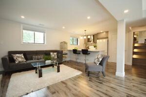 Renovated 1 bdr+den walk-out basement for rent in Uxbridge!