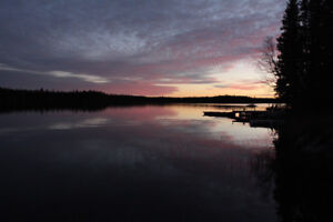 """Cabin for sale on titled land-Setting Lake """"PRICE REDUCED"""" 159,0"""