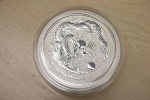 **WOW** 2012 Year of the Dragon, 1 KG Silver, 30$ Coin - 15569