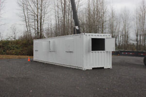 Shipping Container Modification - Home/ Office / Storage