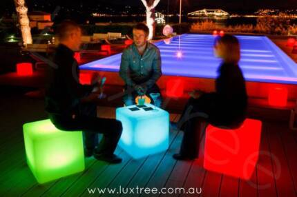 AWESOME LED GLOW FURNITURE FOR HIRE!
