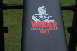 bench Ben Weider et poids