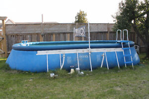 12 x 24 foot swimming pool