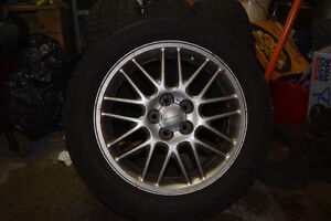 *WINTER TIRES AND RIMS FOR SUBARU* 205/55R16 91T
