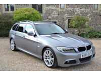 BMW 320i 2.0 Touring Auto 2009 MSport Business Edition, 67k MILES, FSH, 3 OWNER