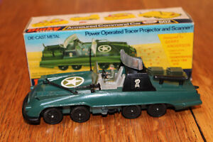 MIB DINKY 602 GERRY ANDERSON ARMOURED COMMAND CAR