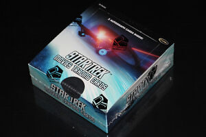 STAR TREK MOVIES-COLLECTION-CARTES/CARDS-DISPLAY BOX (NEUF/NEW)