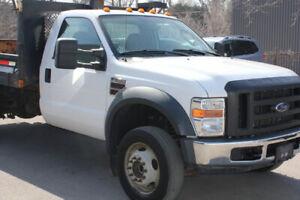 2008 FORD F 550 4X4 XL TRIM DUMP