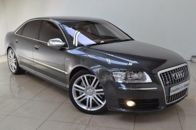 2007 07 audi s8 5 2 s8 fsi quattro v10 4d auto 450 bhp. Black Bedroom Furniture Sets. Home Design Ideas