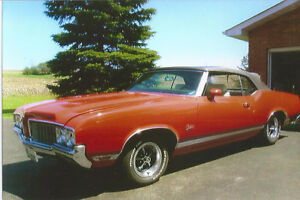 1970 Olds Cutless Convertible