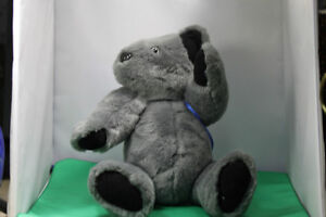 Soft cuddly Grey Teddy Bear fully moveable joints, & backpack Kingston Kingston Area image 8