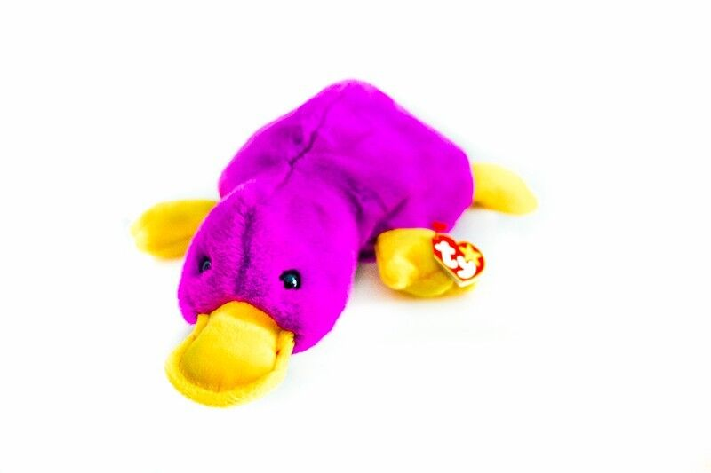 TY beanie buddies Patti the platypus for baby infant toddler kid child