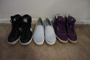 Wormen's shoes (converse, Nine West, Miss Sixty, etc)