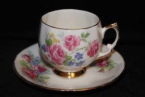 Tea Cups And Saucers Bone China England | Find Art, Antiques