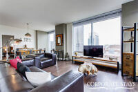Luxury 2BDR apt., furnished & equip., all incl., Downtown