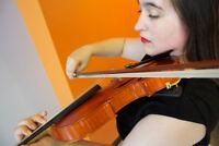 Cours de piano et violons à votre domicile