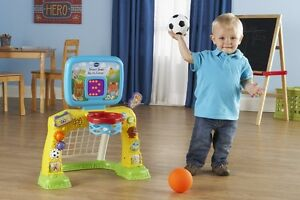 NEW: VTech Smart Shots Sports Center - $40 (CASH, NO TAX)