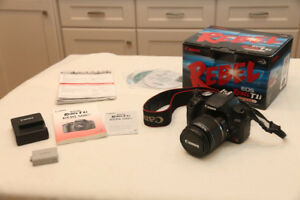 Canon T1i  Digital camera kit with 18-55mm lens and accessories
