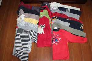 117 Piece Lot Boys Clothing Sizes 3, 3X, 3T