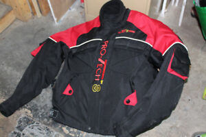 Motorcycle jacket with armour